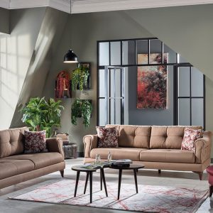 Vals Sofa Set (6 SEATER)